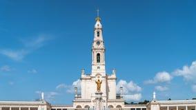 Santuario de Fátima, Portugal Una ubicación importante de Marian Shrines y del peregrinaje en el mundo para los católicos Imagenes de archivo