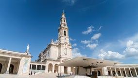 Santuario de Fátima, Portugal Una ubicación importante de Marian Shrines y del peregrinaje en el mundo para los católicos Fotos de archivo