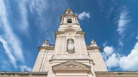Santuario de Fátima, Portugal Una ubicación importante de Marian Shrines y del peregrinaje en el mundo para los católicos Imagen de archivo libre de regalías