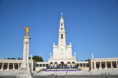 Santuario de Fatima, Portugal. Sanctuary of Fatima Royalty Free Stock Image