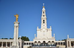 Santuario de Fatima, Portugal. Sanctuary of Fatima Stock Photography