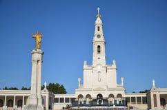 Santuario de Fatima, Portugal Schongebiet von Fatima stockfotografie