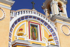 Santuario de guadalupe IV. Sanctuary of virgin mary guadalupe, city of Cholula, mexican state of Puebla Royalty Free Stock Images