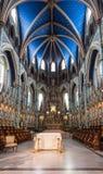 Santuario de la catedral de Notre-Dame en Ottawa Fotografía de archivo