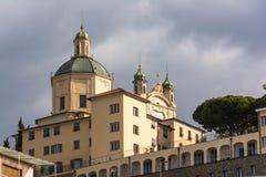 Santuario de la costa del della de Madonna, Sanremo Imágenes de archivo libres de regalías