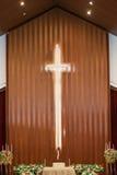 Santuario de la iglesia Fotos de archivo