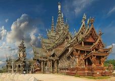 Santuario de la verdad, Pattaya, Tailandia Fotografía de archivo libre de regalías