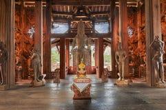 Santuario de la verdad, Pattaya, Tailandia Imagen de archivo libre de regalías