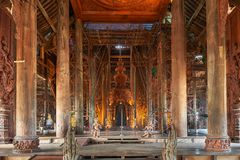 Santuario de la verdad, Pattaya, Tailandia Fotos de archivo