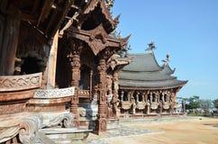 Santuario de la verdad situado en Pattaya Tailandia Foto de archivo