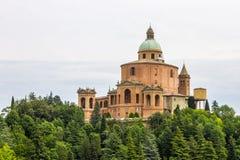 Santuario de los di San Luca, Bolonia, Italia de Madonna imagenes de archivo