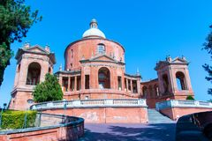 Santuario de los di San Luca de Madonna en Bolonia, Italia Imágenes de archivo libres de regalías