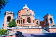 Santuario de los di San Luca de Madonna en Bolonia, Italia Fotos de archivo