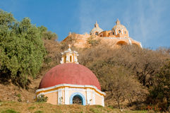 Santuario de los remedios, Cholula (Mexi Stock Photos