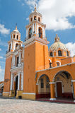 Santuario de los remedios, Cholula, Mexico Stock Photography