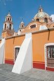 Santuario de los remedios, Cholula, Mexiico Royalty Free Stock Image