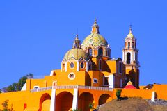 Santuario de los Remedios I  Royalty Free Stock Photos