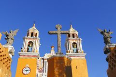 Santuario de los Remedios XVIII Stock Photography