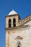 Santuario de los SS Delle Grazie de Maria Genzano di Lucania Italia Imagen de archivo libre de regalías