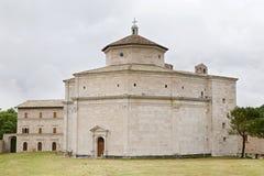 Santuario de Macereto, Macerata Imagenes de archivo