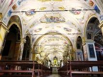 Santuario de Madonna del Sasso, Orselina fotografía de archivo