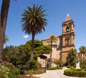 Santuario de Maria Santissima Annunziata, Trapan Imagenes de archivo