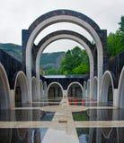 Santuario de Meritxell, Andorra Imagen de archivo libre de regalías