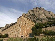 Santuario de Montserrat Fotos de archivo libres de regalías