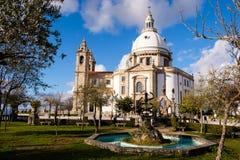 Santuario de Nossa Senhora tun Sameiro Stockfotos