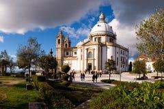 Santuario de Nossa Senhora tun Sameiro Stockbilder