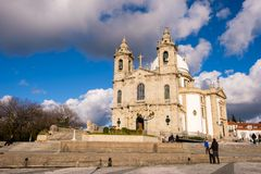 Santuario de Nossa Senhora tun Sameiro Lizenzfreie Stockbilder