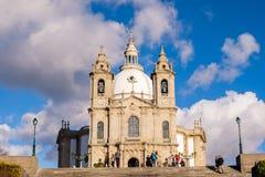 Santuario de Nossa Senhora tun Sameiro Lizenzfreie Stockfotos