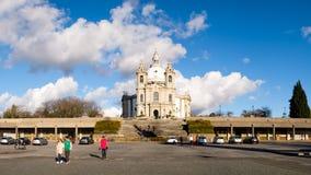 Santuario de Nossa Senhora tun Sameiro Stockfotografie