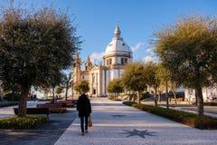 Santuario de Nossa Senhora tun Sameiro Lizenzfreies Stockbild