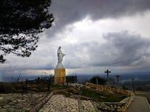 Santuario de Nuestra Señora de Araceli Lucena, Ισπανία στοκ φωτογραφία