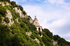 Santuario de Queralt en los Pirineos cataluña Imagenes de archivo