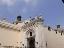 Santuario de San Francisco Monastery en Lima Foto de archivo
