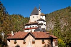 Santuario de San Romedio - Trento Italia Imagen de archivo
