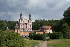 Santuario de St Mary (Swieta Lipka) en Polonia Foto de archivo libre de regalías