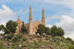 Santuario de Sta. Maria Magdalena. In Novelda, Alicante Royalty Free Stock Photos