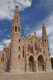 Santuario de Sta. Maria Magdalena. In Novelda, Alicante Stock Photos