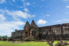 Santuario de Wat Phu Fotos de archivo libres de regalías