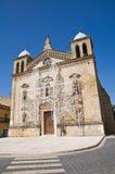 Santuario degli ss Delle Grazie di Maria Genzano di Lucania L'Italia Fotografie Stock