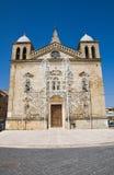 Santuario degli ss Delle Grazie di Maria Genzano di Lucania L'Italia Fotografia Stock Libera da Diritti