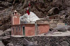 Santuario dei musulmani di Sidi Chamharouch Fotografia Stock