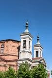 Santuario del dei Fiori de Madonna en el sujetador, Italia imágenes de archivo libres de regalías