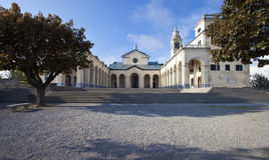 Santuario del della Guardia del Signora di Nostra Fotografie Stock Libere da Diritti