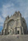 Santuario del luzia di Santa, Viana do Castelo Portogallo Fotografia Stock