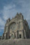 Santuario del luzia di Santa, Viana do Castelo Portogallo Fotografie Stock