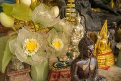 Santuario del tempio buddista Fotografia Stock Libera da Diritti